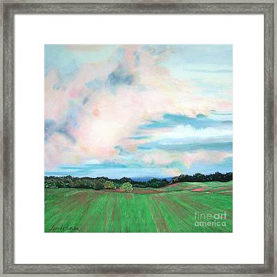 Clouds I Framed Print by Lucinda  Hansen