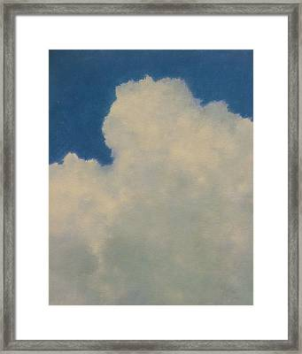 Clouds Illusions Framed Print by Gary Kaemmer