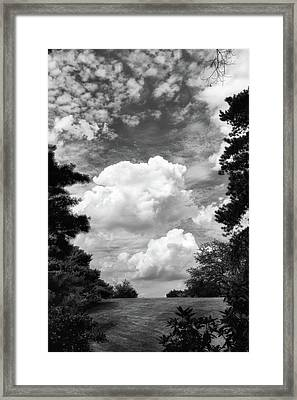 Clouds Illusions Framed Print by Jessica Jenney