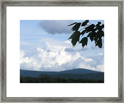 Clouds Framed Print by James and Vickie Rankin