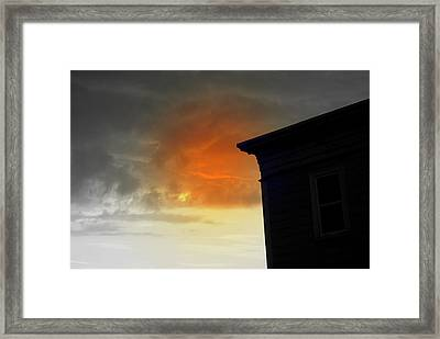 Framed Print featuring the photograph Clouds by Lois Lepisto