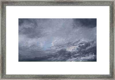 Framed Print featuring the photograph Clouds by Megan Dirsa-DuBois