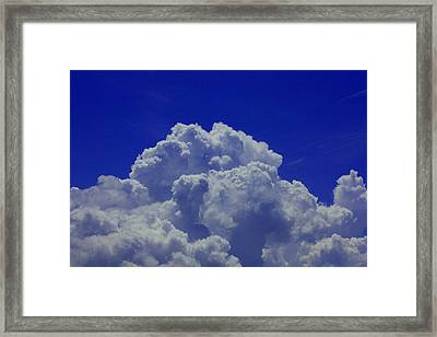 Clouds Framed Print by Michael Albright