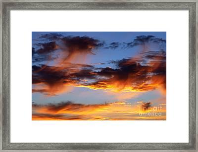Clouds Framed Print by Michal Boubin