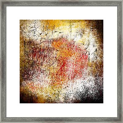 Clouds Of Fire Framed Print