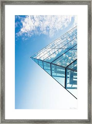 Clouds On High Framed Print by Todd Klassy