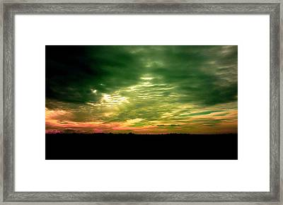 Clouds Over Ireland Framed Print