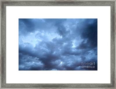 Clouds Over Kansas Framed Print