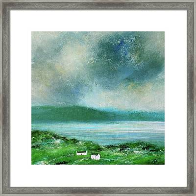 Clouds Over Malin Head, Donegal Framed Print