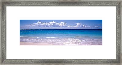 Clouds Over Sea, Caribbean Sea Framed Print