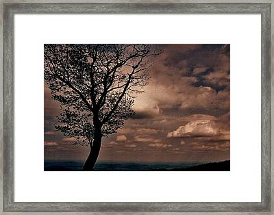 Clouds Over Shenandoah Framed Print