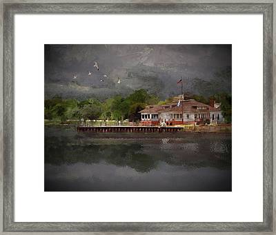 Clouds Over The Harbor - Limited Edition Framed Print
