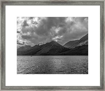 Clouds Over Loch Lochy, Scotland Framed Print