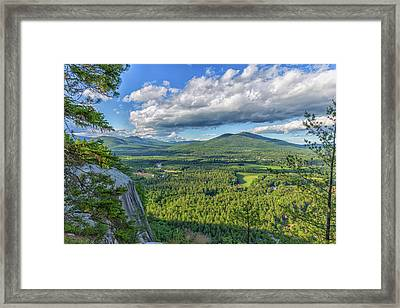 Clouds Over The Mountains Framed Print by Brian MacLean