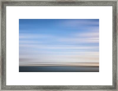 Clouds Over The Skyway X Framed Print by Jon Glaser