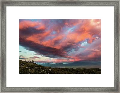 Clouds Over Warner Springs Framed Print