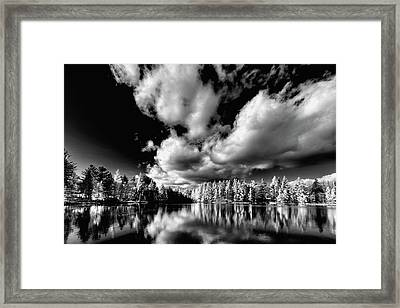 Clouds Over Woodcraft Framed Print by David Patterson