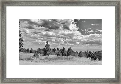 Clouds Roll In Framed Print
