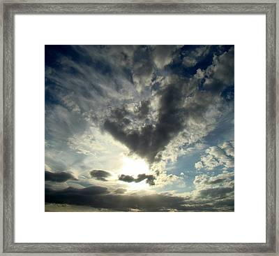 Clouds Two Framed Print by Ana Villaronga