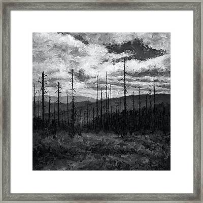 Cloudscape 3 Framed Print