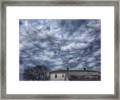 Cloudscape Framed Print by HD Connelly