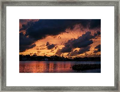 Cloudscape Framed Print by Laura Fasulo