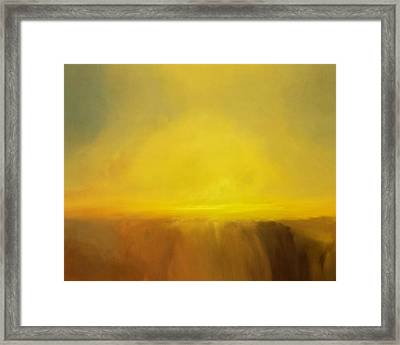 Cloudscape Framed Print by Lonnie Christopher
