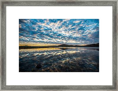 Cloudscape Framed Print by Sean Ramsey