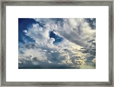 Cloudscape Sixteen Framed Print