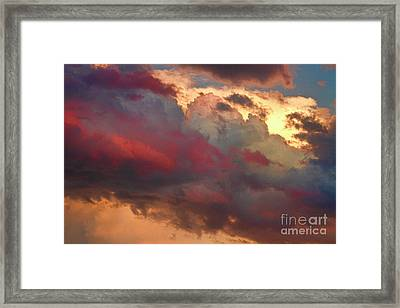 Cloudscape Sunset 46 Framed Print by James BO  Insogna