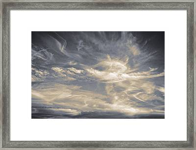 Cloudscape Thirteen Framed Print by Tom Druin