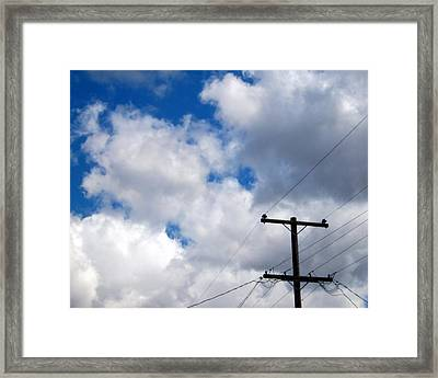 Cloudy Day Framed Print by Patricia Strand