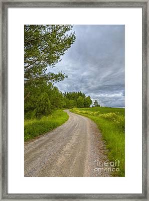 Cloudy Day Framed Print by Veikko Suikkanen