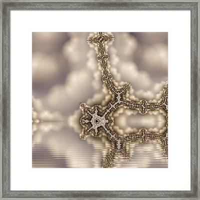 Cloudy Day Framed Print