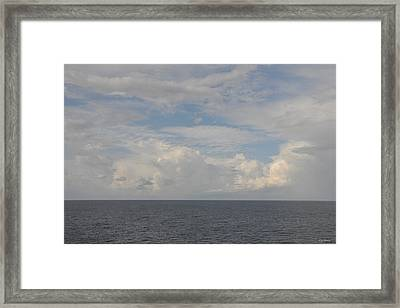 Cloudy Skys  Framed Print by Bill Perry
