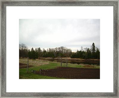 Framed Print featuring the photograph Cloudy Spring Dawn After Rain by Kent Lorentzen