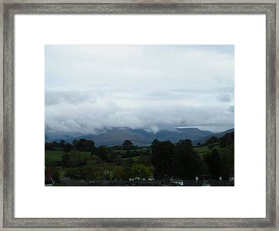 Cloudy View Framed Print
