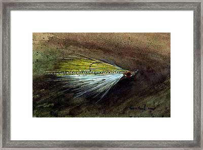 Clouser Minnow Framed Print by Sean Seal