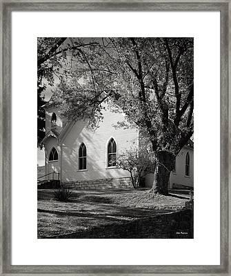 Clover Hollow Church Framed Print