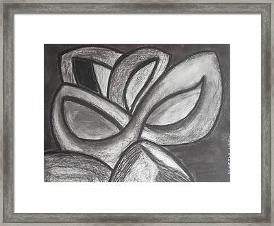 Clover Leaf Framed Print by Marsha Ferguson