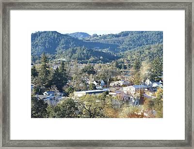 Cloverdale Framed Print