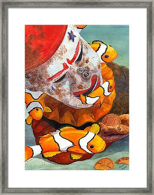 Clown Fish Framed Print by Catherine G McElroy