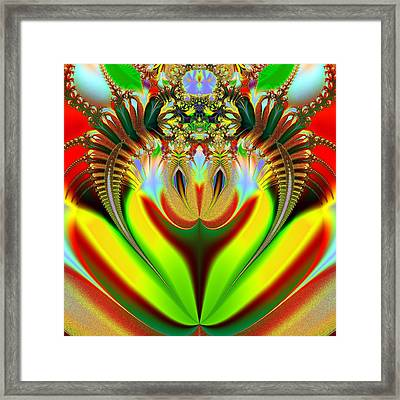 Clown Framed Print by Sfinga Sfinga