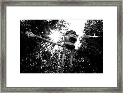 Clown Framed Print by Tom Melo
