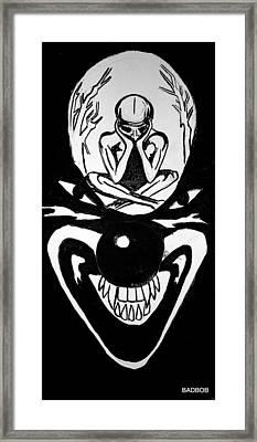 Clowning Framed Print