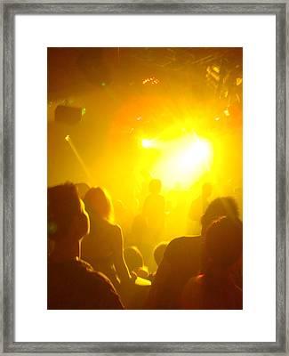 Club Lights Framed Print by Jeff Porter