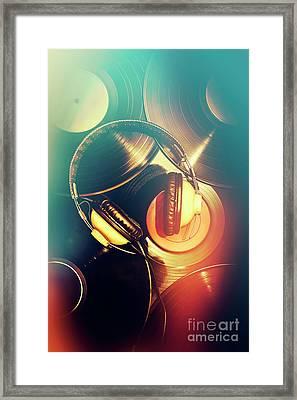 Club Music Art Framed Print by Jorgo Photography - Wall Art Gallery