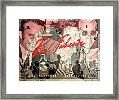 Clubbing In The 50s Framed Print by Gwyn Newcombe