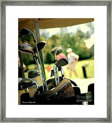 Clubs IIi Framed Print