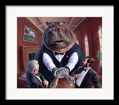 Overweight Framed Prints